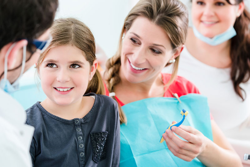 family dental checkup
