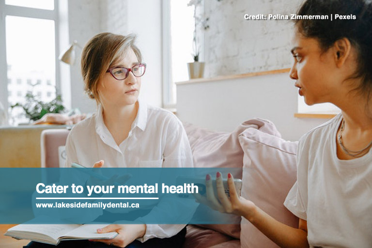 Cater to your mental health