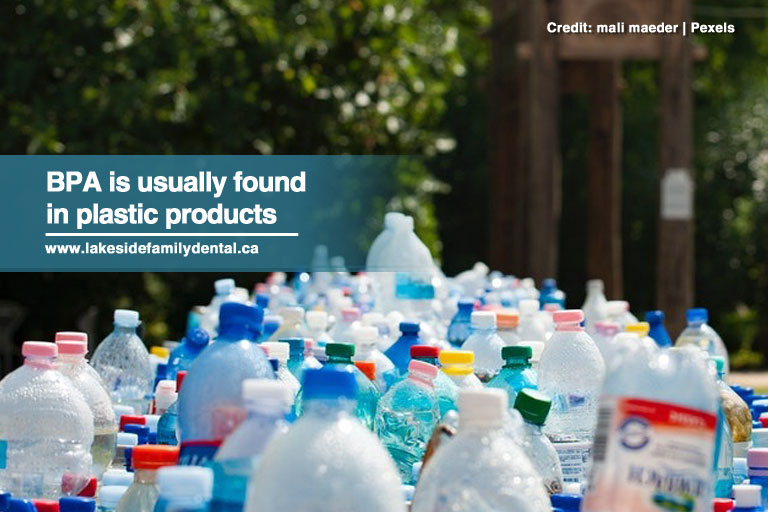 BPA is usually found in plastic products